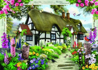 Jigsaw Puzzles - Rose Cottage