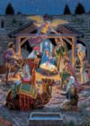 Holiday Book Box: Holy Night - 1000pc Jigsaw Puzzle by Masterpieces