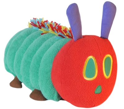 "Very Hungry Caterpillar - 15"" Caterpillar by Zoobie Pets"