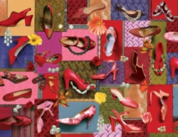 Springbok Jigsaw Puzzles - Pearls & Pumps!