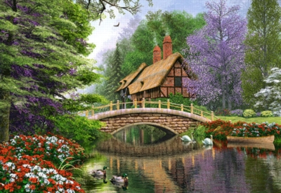 Jigsaw Puzzles - River Cottage