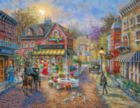 Cobblestone Village - 500pc Jigsaw Puzzle by Springbok