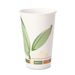 Solo Bare - EcoFriendly Recycled PCF Paper Hot Cup, 20oz, 420RC-J8484, 600/cs