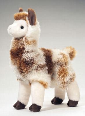"""Liam - 11"""" Llama By Douglas Cuddle Toy"""