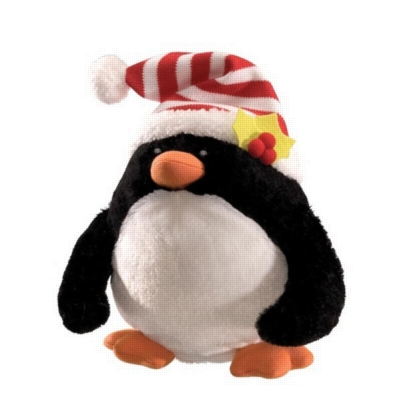 """Rolly Polly Penguin - 9"""" Christmas By Gund"""