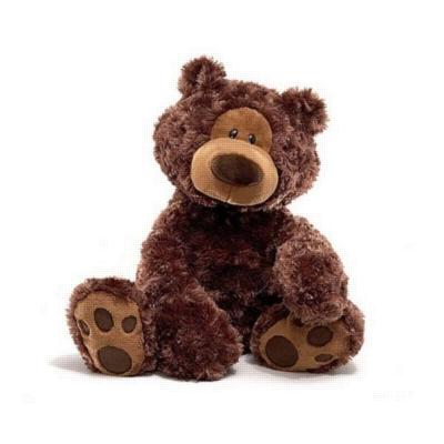 "Philbin (Chocolate) - 18"" Bear By Gund"