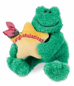 Congratulations - 4.5'' Frog by Gund