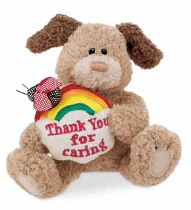 Thank You For Caring - 4.5'' Dog by Gund