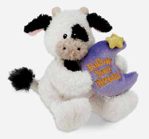 Follow Your Dreams - 4.5'' Cow by Gund