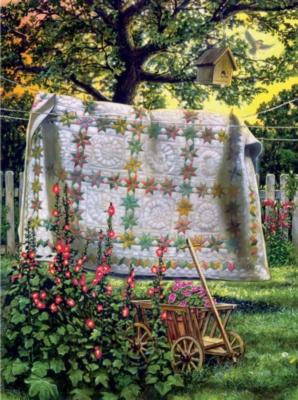 Jigsaw Puzzles - Garden Wagon
