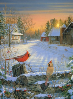 Jigsaw Puzzles - Winter Afternoon