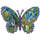 Rainforest Butterfly - 1000pc Shaped Jigsaw Puzzle By Sunsout