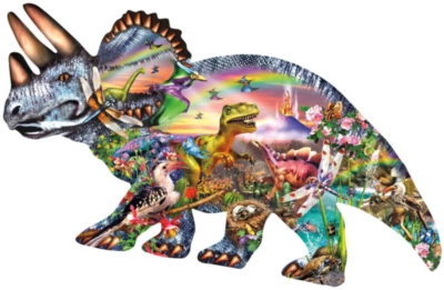 Dinosaurs Jigsaw Puzzles for Kids - When Dinosaurs Ruled