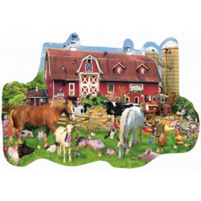 Shaped Jigsaw Puzzles - Summer Barn