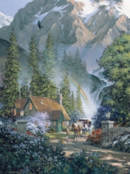 Cobble Hill Jigsaw Puzzles - Mountain Hideaway