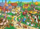 Find the Difference: Naughty Puppy - 60pc Jigsaw Puzzle By Cobble Hill