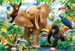 Floor Jigsaw Puzzles For Kids - Jungle Juniors