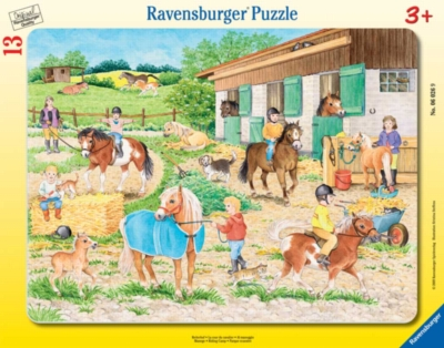 Jigsaw Puzzles for Kids - Riding Camp
