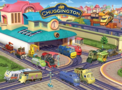 Chuggington™ Busy Day - 100pc Jigsaw Puzzle By Ravensburger