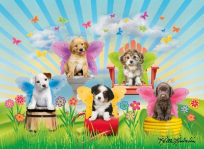 Doggie Wings Puzzle