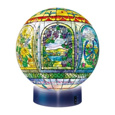 Stained Glass (with Light Stand) - 270pc Puzzleball By Ravensburger