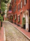 Beacon Hill, Boston - 300pc Large Format Jigsaw Puzzle By Ravensburger