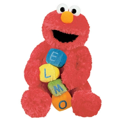 Musical Elmo - 9'' Sesame Street by Gund