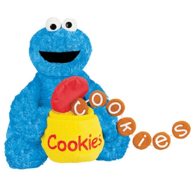 Feed Me Cookie Monster - 10'' Sesame Street by Gund