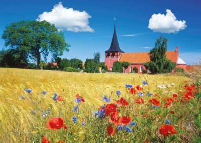 Ravensburger Jigsaw Puzzles - Church in Bornholm, Denmark