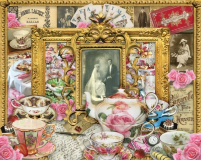 Tea Time - 1000pc Jigsaw Puzzle By White Mountain