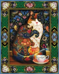 Hard Jigsaw Puzzles - The Painted Cat