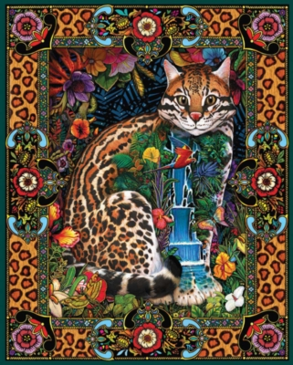 Jigsaw Puzzles - Tropical Cat