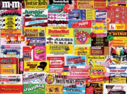 Jigsaw Puzzles - Candy Wrappers