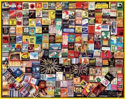 Jigsaw Puzzles - Matchbooks