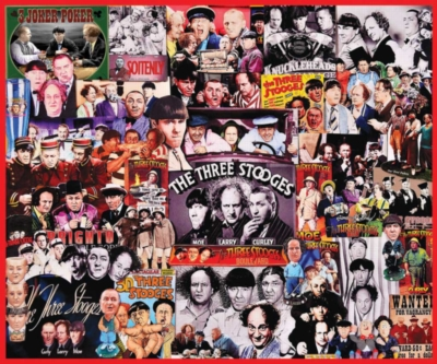 Jigsaw Puzzles - The Three Stooges
