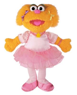 Zoe - 12'' Sesame Street by Gund