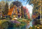 Fairytale Cottage - 500pc Jigsaw Puzzle by Castorland