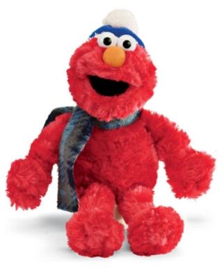 Holiday Elmo - 9.5'' Sesame Street by Gund