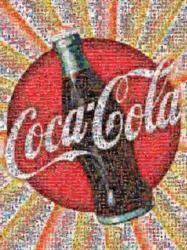 Photomosiac Jigsaw Puzzles - Coca