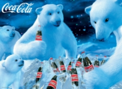 Coca-Cola: Polar Bears - 1000pc Jigsaw Puzzle By Buffalo Games