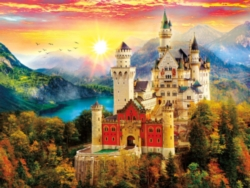 Majestic Castles: Castle Dream - 750 pc puzzle by Buffalo Games
