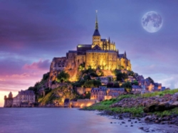 Jigsaw Puzzles - Mont Saint Michel, France