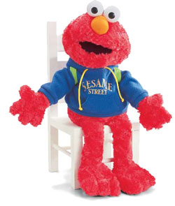 School Time Elmo - 13'' Sesame Street by Gund