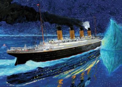 Jigsaw Puzzles - Titanic 100th Anniversary: Titanic Collision