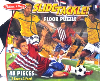 Melissa and Doug Floor Puzzles - Slide Tackle!