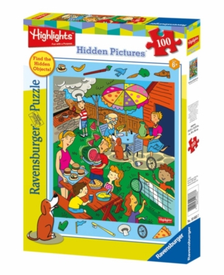 Highlights™ - Backyard Barbecue - 100pc Jigsaw Puzzle By Ravensburger