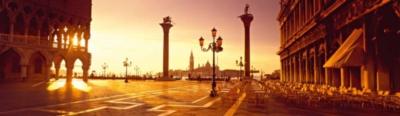 Saint Mark Square, Venice - 2000pc Panoramic Jigsaw Puzzle By Ravensburger