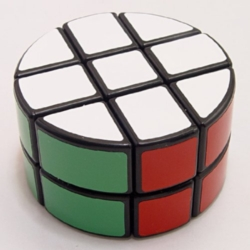Puzzle Cubes - Speed Cube, Pie Shaped Round Column, 2x3x3
