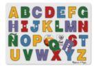 See-Inside Spanish Alphabet - 27pc Peg Puzzle By Melissa & Doug