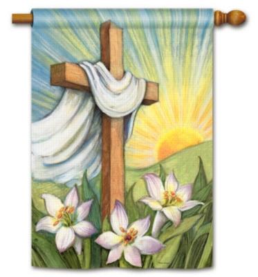 Easter Sunrise - Standard Flag by Magnet Works